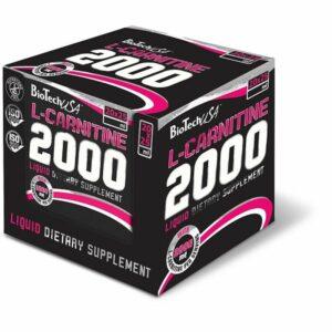 BioTech L-Carnitine Liquid 2000 mg 20 x 25ml kaufen