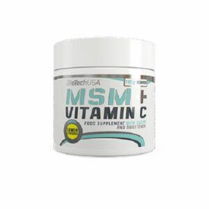 BioTech MSM + Vitamin C - 150g kaufen