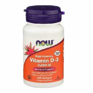 Now - Vitamin D3 2000IU - 240 Softgels kaufen
