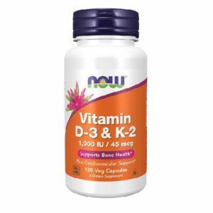 Now - Vitamin D3 & K2 120 Kapseln kaufen