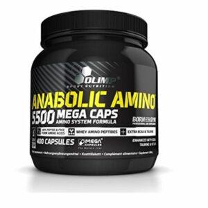 Olimp Anabolic Amino 5500 Mega Caps - 400 Kapseln kaufen