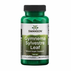 Swanson Gymnema Sylvestre 400mg 100 Kapseln